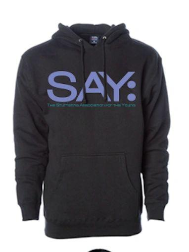 SAY Logo Sweatshirt - Pullover Hoodie