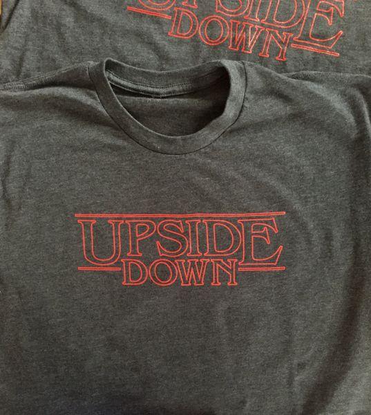 Upside Down Stranger Things Tee