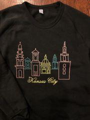 Vintage Inspired Plaza Lights Sweatshirt