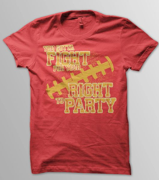 You Gotta Fight for Your Right to Party Tee