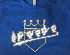 Royals Fingerspelling ASL Shirt