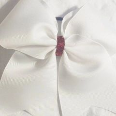 CHEER BOW - PRACTICE BOWS - PLAIN GROSGRAIN CHEER BOW