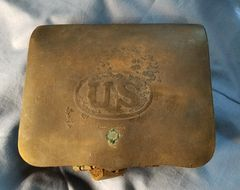 1864 CARTRIDGE BOX - S H YOUNG