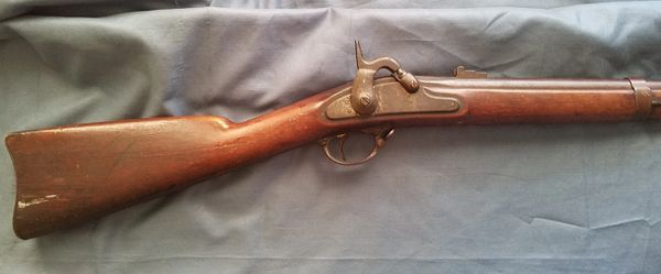 M1861 SPRINGFIELD RIFLE MUSKET DATED 1862