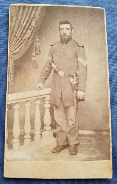CDV-Armed Union Sargent