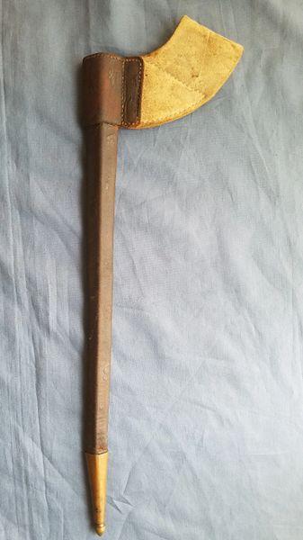 1816 WHITE BUFF FROG BAYONET SCABBARD