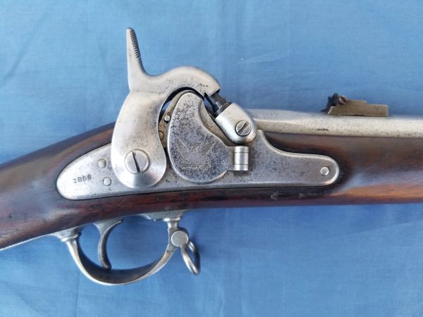 1855 RIFLE MUSKET - Harpers Ferry 1858