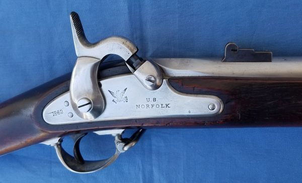 Model 1861 Rifle Musket - Trenton 1863
