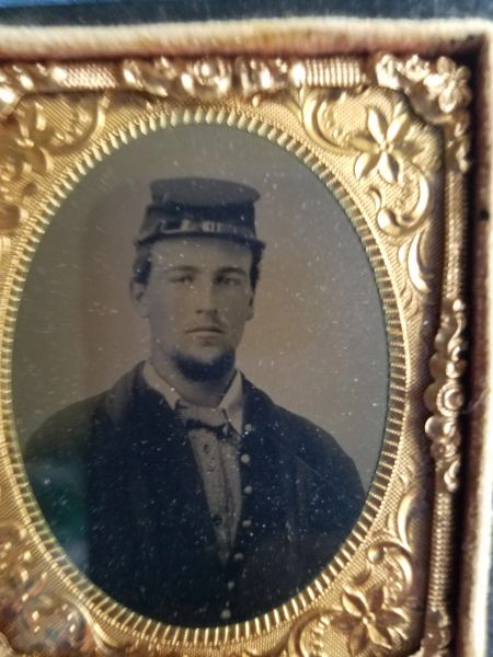 TINTYPE OF JOHN R CROSS 113 OHIO