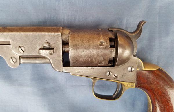 COLT 1851 NAVY - HARTFORD ADDRESS - 1861