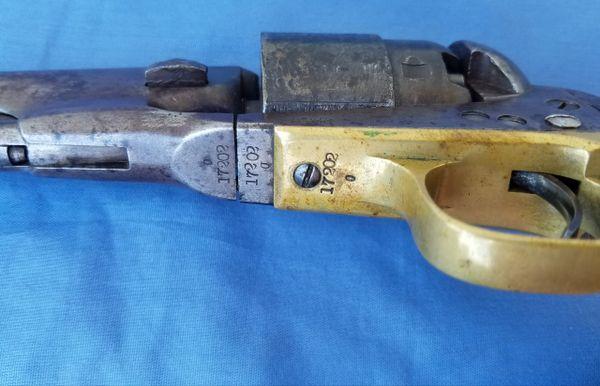 COLT 1860 4-SCREW ARMY - 11 NY CAV