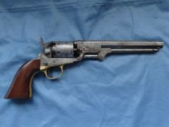1 - Colt 1851 Navy - Cut for Shoulder Stock