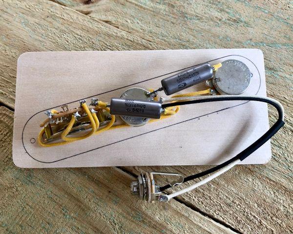 "52' ""Dark Circuit"" Fender Telecaster Wiring Harness"