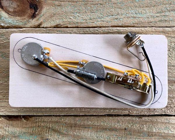 Fender Telecaster Reverse Wiring Harness