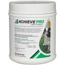 Achieve Pro with Cryptex Feed Supplement for Newborn Calves, Powdered, 800gm , Agrilabs 131