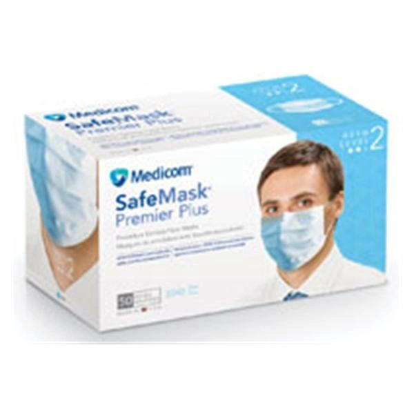 disposable blue earloop face mask