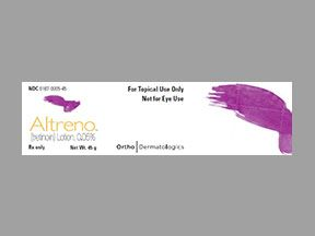 ALTRENO (tretinoin) Lotion, 0.05% , 45 gr , Bausch 00187-0005-45