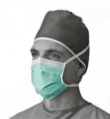 Antifog Face Masks Adhesive Tape, 300/Pkg , Green , Medline NON27361A