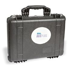 """Case, AED Pelican, Large, Custom Molded Inserts, Dimensions: 19"""" x 15.4"""" x 7.6"""" , Zoll Medical 8000-0837-01"""