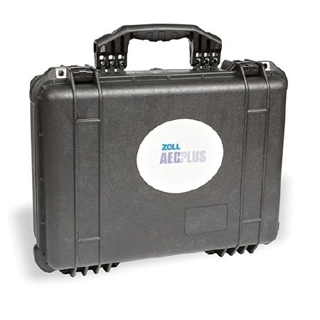 "Case, AED Pelican, Large, Custom Molded Inserts, Dimensions: 19"" x 15.4"" x 7.6"" , Zoll Medical 8000-0837-01"