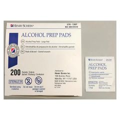 Alcohol Prep Pad Large Sterile 200/Box , 20 Box/Case , Alcohol Prep Pad Large Sterile 200/Box , 20 Box/Case HS1027-Case