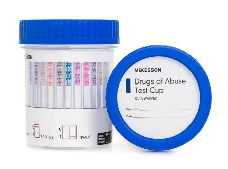 Drugs of Abuse Test 12-Drug Panel with Adulterants AMP, BAR, BUP, BZO, COC, mAMP/MET, MDMA, MOP300, MTD, OXY, PCP, THC (OX, pH, SG) Urine Sample 25 Tests , MC 16-6125A3