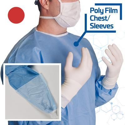 AHS Sterile Field Max Protection Gowns Small , Each , AHS 5-016