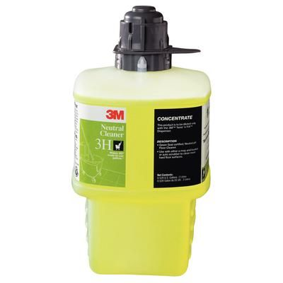 3M Neutral Cleaner Concentrate 2-Liter Bottle , 3M-3H