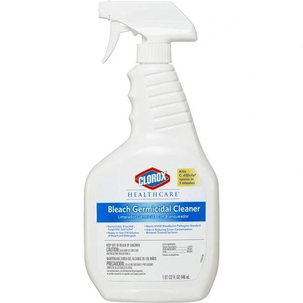 32 Oz Clorox Bleach Germicidal Cleaner Each , Colorox-32