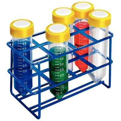 50 ml Wire Test Tube Racks Multi-Tube Rack, Holds 8 Tubes , JORGENSEN J0879A