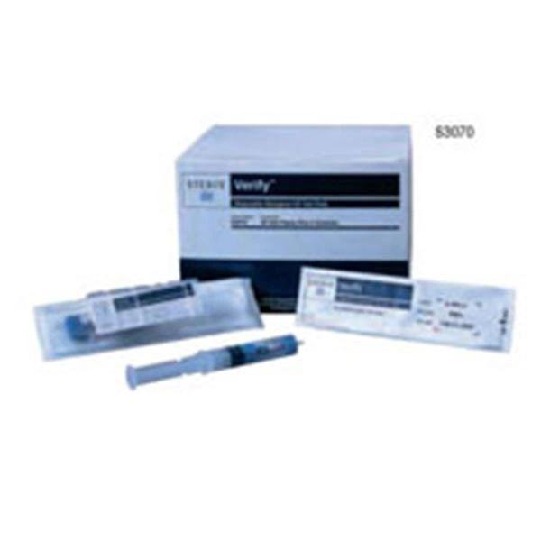 Biological Indicator Dual Species Verify Steam / EO 24 / 48 Hour 100/Box , Steris S3060