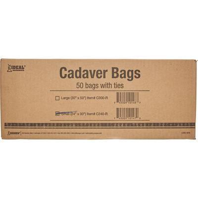 """Ag-Tek Cadaver Bags Small, 24"""" W x 30"""" L , 50/Pack , NEOGEN C240-R"""