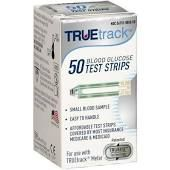 True Track Glucose Test Strips 50/Box