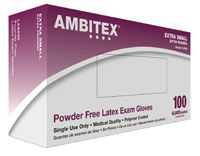Ambitex PC Glove PF Latex X-Small 100/Bx, 10 BX/Case , HS-LXS240