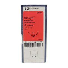 """Biosyn Suture CM817, 30"""" (GS-11), Size 0 ,36/Pkg , COVIDIEN CM817"""
