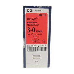 "Biosyn Suture GM324, 30"" (CV-25), Size 3-0 ,36/Pkg , COVIDIEN GM324"