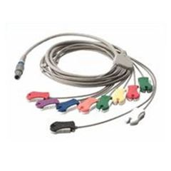 Cable, ECG Patient Stress Cable, Pro Clip, AHA Cardio Perfect,10 Lead Cardio Control Units , WelchAllyn SE-PC-AHA-CLIP