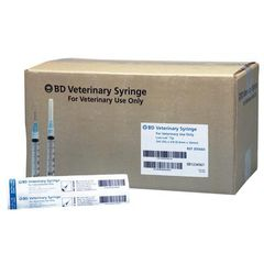 "BD 3 ml Syringe/Needle Combination 25 ga x 5/8"", 600/Pkg , BD 305660"