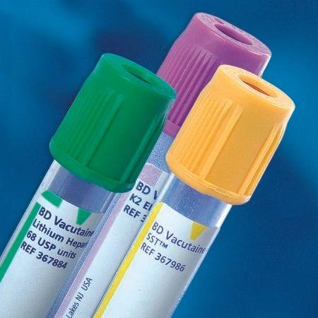 BD Vacutainer® Plus Venous Blood Collection Tube Discard Tube Plain 13 X 75  mm 3 mL Natural BD Hemogard Closure Plastic Tube , 100/Box , 10 Box/Case