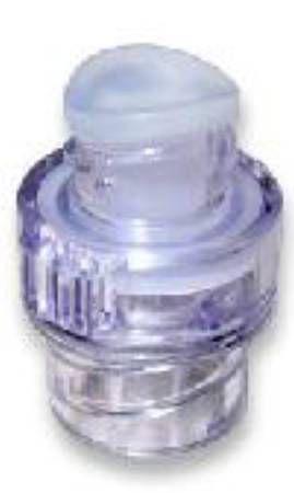 """Acacia IV Extension Set Split Septum Q-Syte Luer Access 6"""" Spin Nut Sterile Disposable Clear Macrobore 50/Case , BD 385152"""