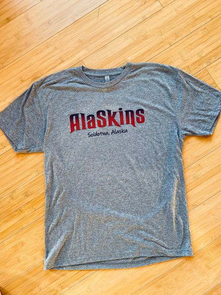 Heather Grey AlaSkins T-Shirt