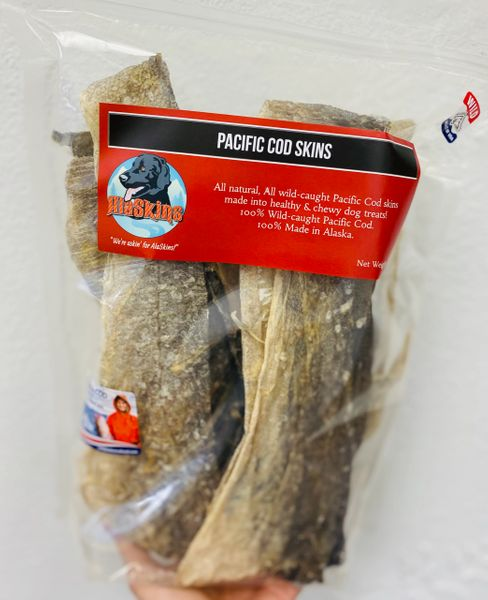Pacific Cod skins / 9oz bag