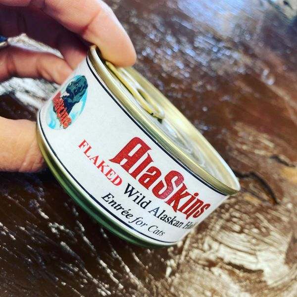 AlaSkins Halibut Entree for Dogs & Cats