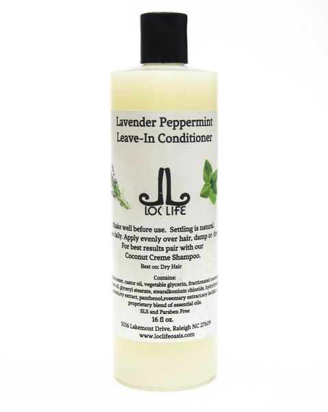 Lavender Peppermint Leave In Conditioner - 16 oz.