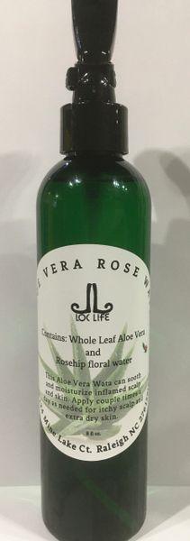 Aloe Vera Rose Wata 8fl oz
