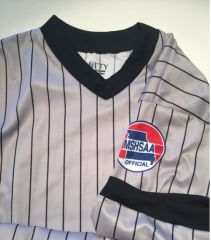MSHSAA Dye Sublimated Grey Shirt
