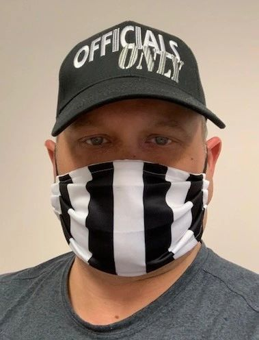 Officials Black & White Face Masks
