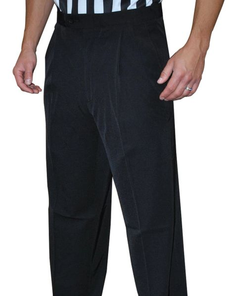 """NEW TAPERED FIT PANTS"" Smitty 4-Way Stretch Pleated Pants w/ Slash Pockets"