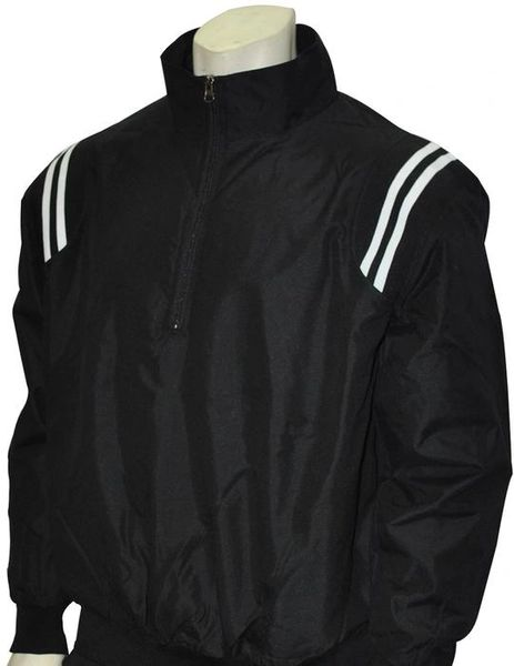 Smitty Long Sleeve Microfiber Shell Pullover Jacket w/ Half Zipper