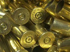 .45-70 Gov't, 'Remington' brand, Used brass rifle cases. 50 pk